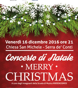 CONCERTO DI NATALE - Merry Christmas