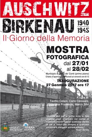 GIORNO DELLA MEMORIA - Mostra fotografica multimediale AUSCHWITZ-BIRKENAU 1940-1945